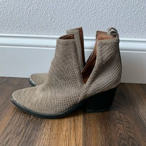 Jeffrey Campbell Hunt the Plains Bootie - size 6